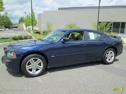 midnight blue dodge charger 2006 midnight blue pearl dodge charger sxt 80838391 gtcarlot