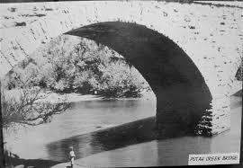 putah creek stone bridge arch lake berryessa news