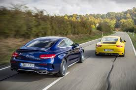 lexus vs mercedes sedan turbo two step porsche 911 carrera s vs mercedes amg c63 s coupe