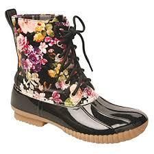 womens boots size 9 amazon com catalog classics s rosetta flowers mid
