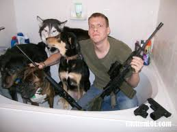 Dogs In The Bathtub Bathtub Defense Tacticalol U2013 Pics And Videos Of The Dumbest Guns