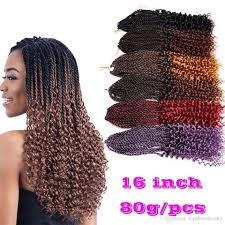 how many bags of pre twisted jaimaican hair is needed 2018 pre twisted curl kanekalon kinky dreadlocks crochet hair afro