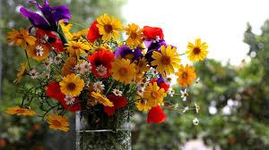 Wildflower Arrangements by Flower Arrangements Wallpaper