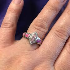 size 9 ring last one available pink opal ring size 9 from kate s closet