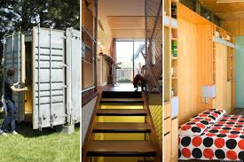 shipping container houses interesting when shipping container
