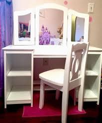 Childrens Vanity Desk Girls Vanity Makeup Dressing Table Kidkraft Deluxe Chair White