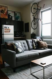 apartment cool mens bedroom studio apartment design with orange