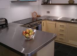 custom built birch ply and stainless steel kitchen by peter