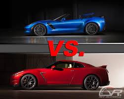 nissan gtr vs corvette z06 2015 z06 v gt r the battle has been waged the modified