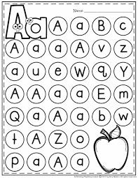 letter worksheets planning playtime