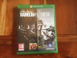 microsoft siege tom clancy s rainbow six siege microsoft xbox one 2015 ebay