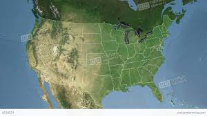 me a map of maryland maryland state usa extruded satellite map stock animation 6516551