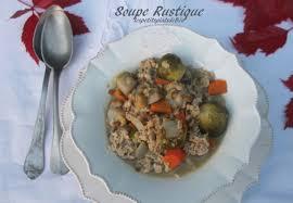 cuisiner l andouillette soupe rustique à l andouillette de veau balade dominicale à la