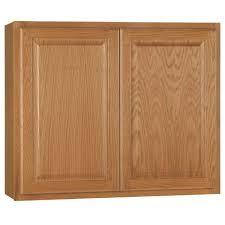 kitchen cabinet in home depot hton assembled 36x30x12 in wall kitchen cabinet in medium oak