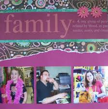 friends and family scrapbook exles lovetoknow