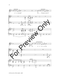little lion little lamb satb choral score u0026 j w pepper sheet music