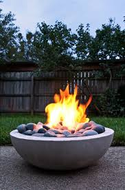 Make Your Own Firepit Make Your Own Modern Concrete Pit Apartment Therapy