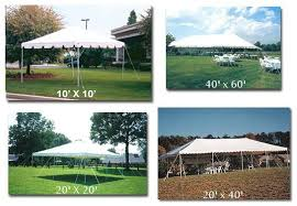 tent rental prices professionally installed aa party and tent