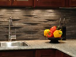 rustic kitchen backsplash modern kitchen backsplash rock modern