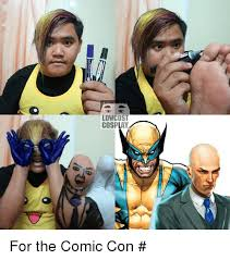 Comic Con Meme - low cost cosplay for the comic con แอดม นเช ดข comic con meme