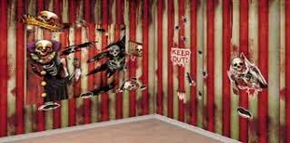 creepy carnival scene setter kit halloween scene setters