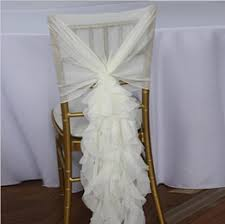 Ruffled Chair Covers Make Chair Covers Online Make Wedding Chair Covers For Sale