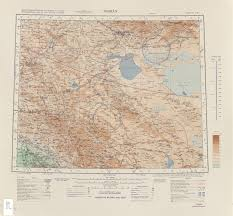 Tehran Map Asia Ams Topographic Maps Perry Castañeda Map Collection Ut