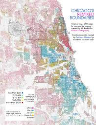 Chicago Attraction Map by Urban Media Archaeology Map Critique Radical Cartography U0027s