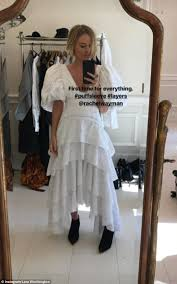 Jerry Seinfeld Halloween Costume Lara Bingle Wears Seinfeld Inspired Puffy Sleeved Dress Daily