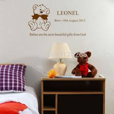 Engraved Teddy Bears Aliexpress Com Buy Custom Any Kids Name Personalized Teddy Bear