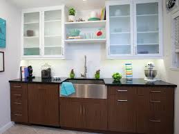 Kitchen Cabinets With Frosted Glass Kitchen Cabinets With Frosted Glass Doors Home Design Ideas