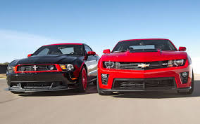 Mustang Boss 302 Black And Red 2012 Chevrolet Camaro Zl1 Vs 2012 Ford Mustang Boss 302 Laguna