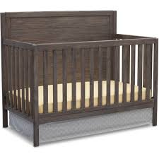 4 In 1 Convertible Crib by Delta Children Cambridge 4 In 1 Convertible Crib Oak Walmart Com