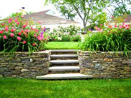 patio splendid landscaping ideas for backyard hill the garden