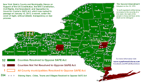 Gun Laws By State Map by Ny Safe Resolutions Documenting County And Town Resolutions On