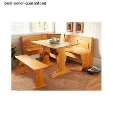 Bench And Chair Dining Sets Corner Bench Ebay