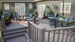 Patio Deck Cost by Trex Decking Cost Deck Traditional With Composite Curved Decking
