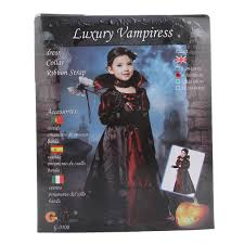 halloween noble vampire kids girls children costume cosplay dress