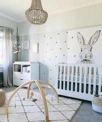 chambre bébé fille déco déco chambre bébé fille et garçon en style scandinave pour un