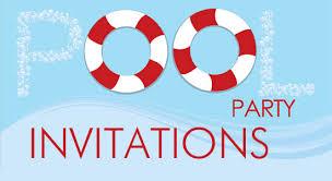 pool party invitations pool party invitations