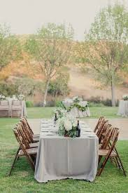 Wedding Table Clothes 35 Subtle Dove Grey Wedding Ideas Weddingomania