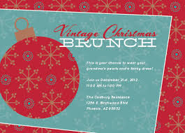 christmas brunch invitations party invitations vintage christmas brunch at minted