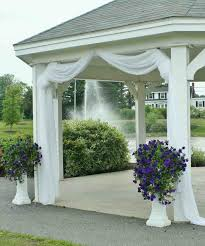 Pergola Wedding Decorations by Wedding Gazebo Decorations Wedding Decorations Pinterest