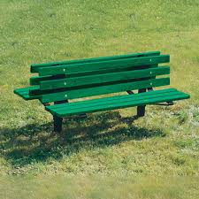 Park Benches Double Sided Recycled Plastic Park Bench Recycled Outdoor