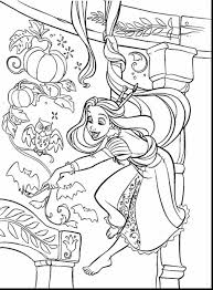 tangled coloring pages design big collection free printable