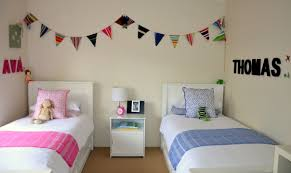 Modern Bedroom Designs For Boys Bedroom Cute Pink And Cool Blue Themed Contemporary Kids Bedroom