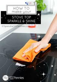 stove top how to clean a stove top spend with pennies