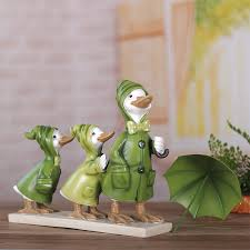 lovely duck ornaments home furnishing jewelry crafts living room