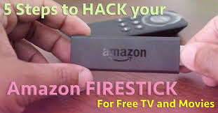 amazon firestick 5 step hack for free tv and movies youtube