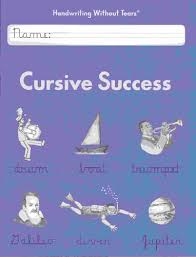 handwriting without tears cursive success student workbook 4th grade